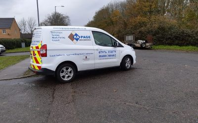 New Van Added to the St Ives Cambs Groundworks Fleet